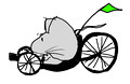 A Mouse Rides a Recumbent